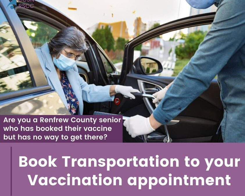 Transportation to your Vaccination Appointment