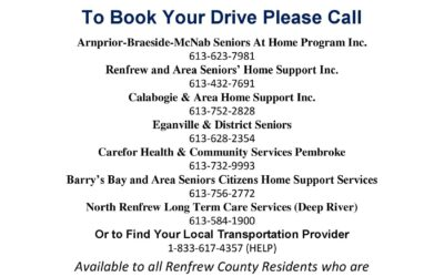 Free Transportation to COVID-19 Vaccination Clinics – Updated