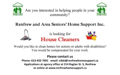 House Cleaners Urgently Needed