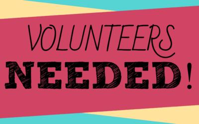 Volunteer Help Needed